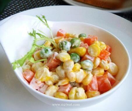 玉米蔬菜沙拉的做法