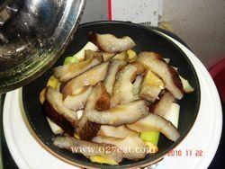 葱烧海参烩口蘑的做法第3步图片步骤 www.027eat.com