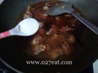 话梅烧排骨的做法第8步图片步骤 www.027eat.com