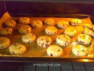 紫薯司康的做法第11步图片步骤 www.027eat.com