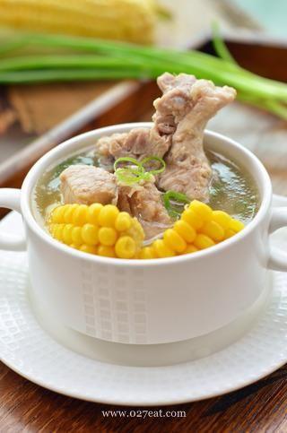 玉米排骨汤的做法第8步图片步骤 www.027eat.com