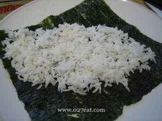 日式肉松玉米手卷饭的做法第2步图片步骤 www.027eat.com