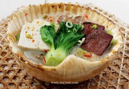 羊血粉丝汤的做法