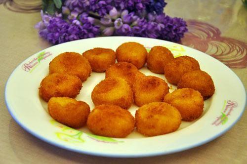 奶酪红薯丸子的做法