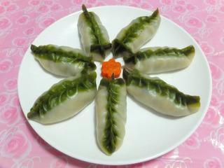 柳叶蒸饺的做法第6步图片步骤 www.027eat.com
