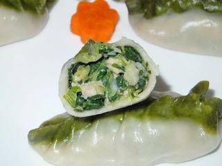柳叶蒸饺的做法的做法