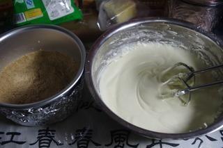 大理石重乳酪蛋糕的做法第7步图片步骤 www.027eat.com