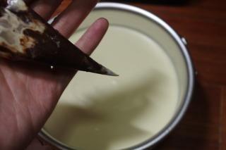 大理石重乳酪蛋糕的做法第8步图片步骤 www.027eat.com
