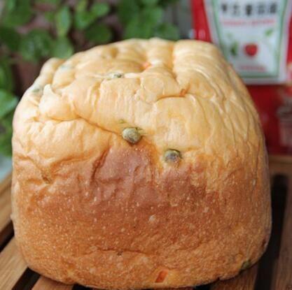 营养便当 蔬菜面包的做法