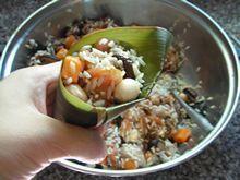 杂粮糯米鸡的做法第10步图片步骤 www.027eat.com