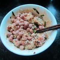 猪肉糯米花生粽子的做法第3步图片步骤 www.027eat.com