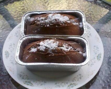 巧克力核桃蛋糕的做法的做法